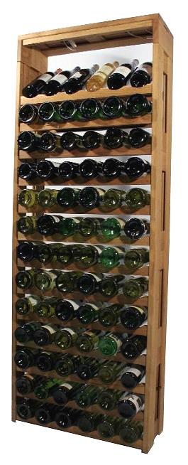 Eiken wijnrek Altus