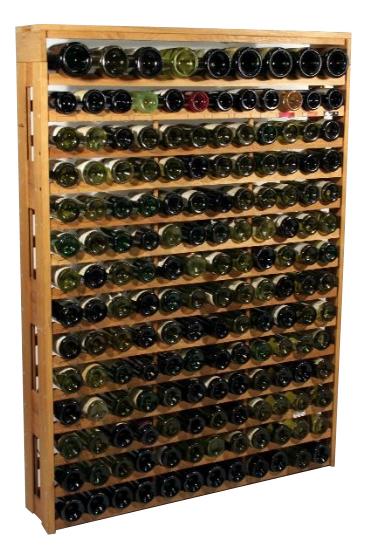 Eiken wijnrek Optimus