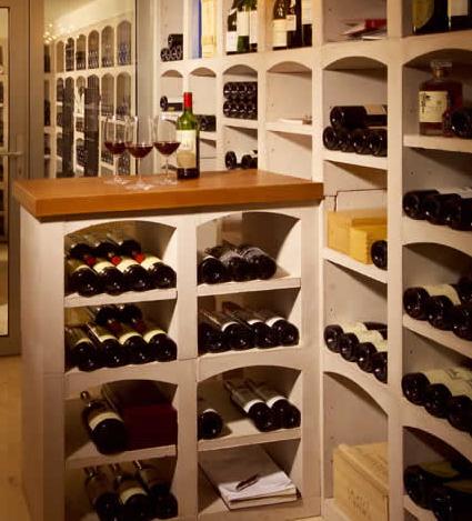 Wijnrek vinicase ideaal voor in de wijnkelder - Wijnkelder ...