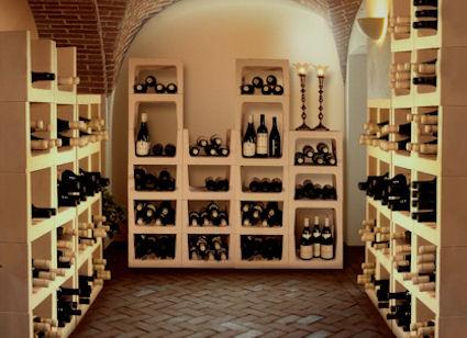 Wijnrek Pro kalkzandsteen